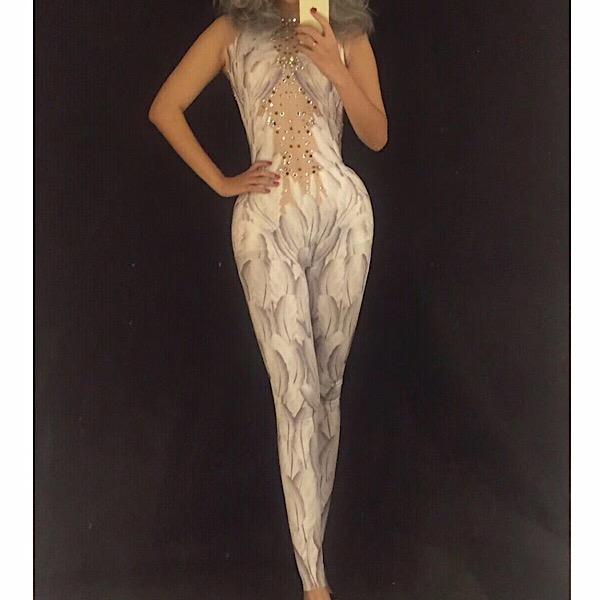 15c4f0d07873 White Angle Crystal Jumpsuit – PinkButterfliBoutique